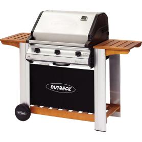 BARBACOA GAS OUTBACK HUNTER INOX PLUS