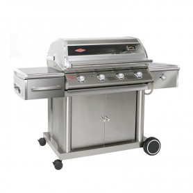 BARBACOA GAS CARRO DISCOVERY TOTAL INOX 4B