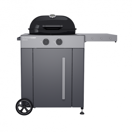 BARBACOA GAS AROSA 570 GRIS