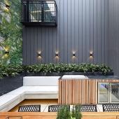 Cuando vives en un bajo y decides transformar el patio en una cocina de exterior te puede quedar así 🤩  #slpbarbacoas #beefeateroutdoorkitchens #beefeaterbbq #barbacoa #arquitectura